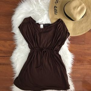 La Blanca chocolate brown coverup